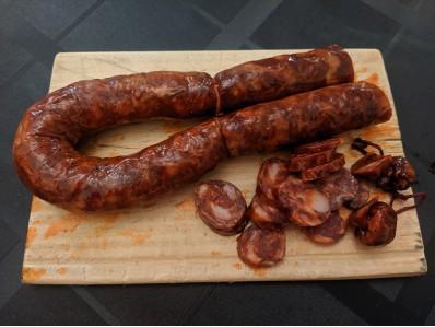 Chorizo curado extra artesano 1 kg
