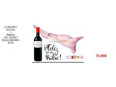 Cordero Lechal + Vino Ribera del Duero