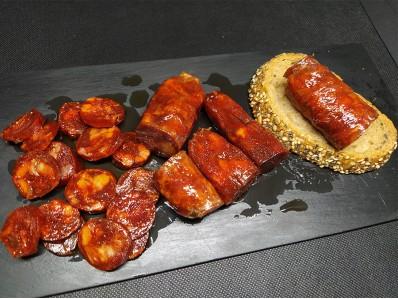 Chorizo en aceite