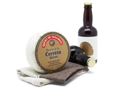 Queso con Cerveza Dolina Sasamon